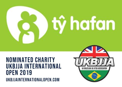 Ty Hafan Nominated Charity UKBJJA International Open 2019