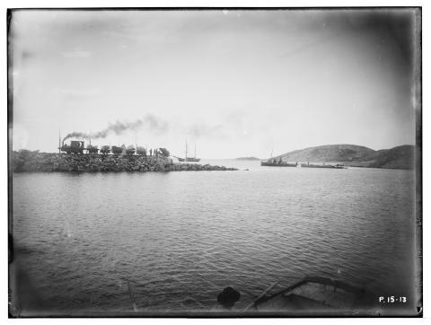 Molo, lokomotiv med vogner, Bodø