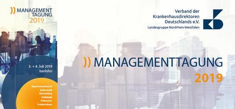 Newsletter KW 18: Managementtagung am 3. und 4. Juli 2019 in Iserlohn