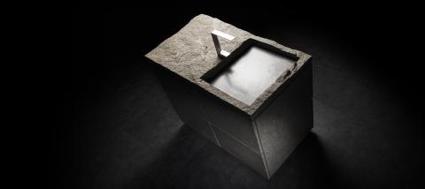 Raw Stone - vågat och unikt med naturen i badrummet