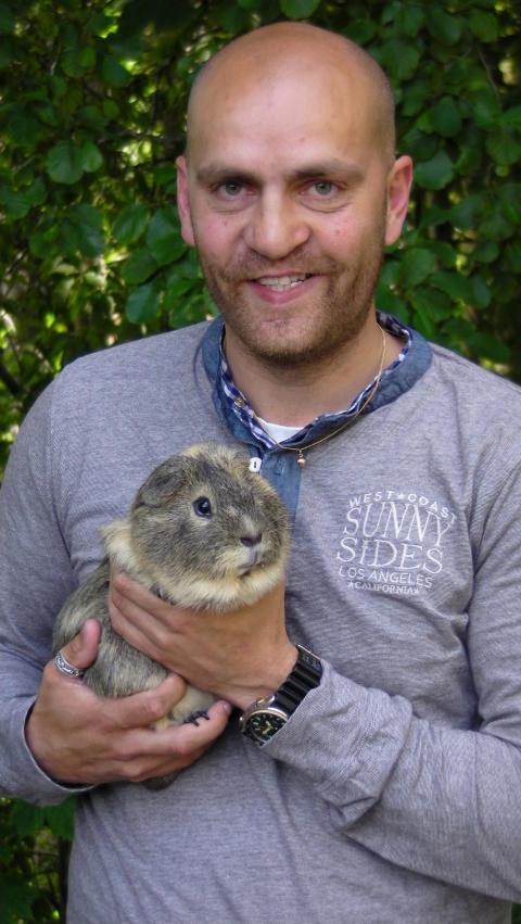 Daniel Hansson är ny djurchef i Furuvik