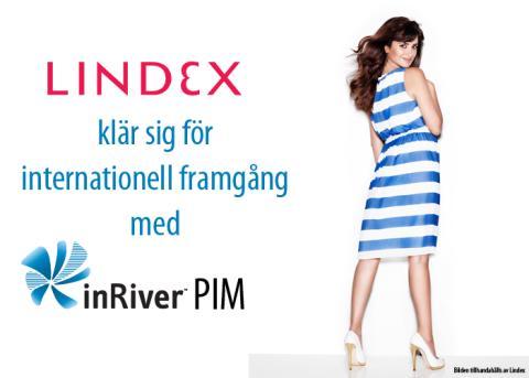 Lindex klär sig för internationell framgång med inRiver PIM