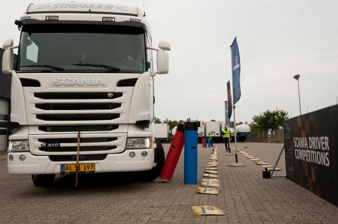 Scania 'Young European Truck Driver' chaufførkonkurrence