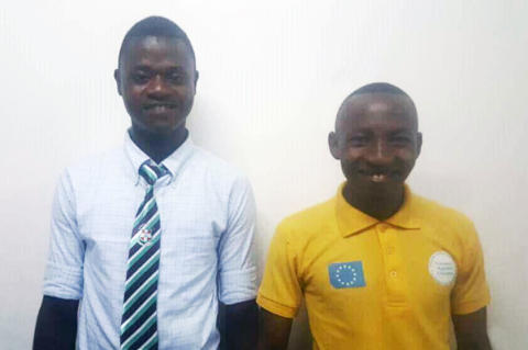 Sorie Koromba och Kamanda Kamara