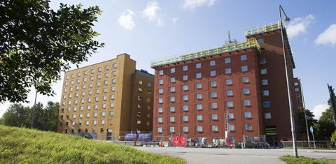 Huset fullt i Stockholms studentbostäders nyproduktion i Solna