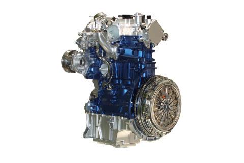 Fordin 1.0-litrainen EcoBoost-moottori