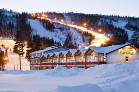 Ski-in Ski-out Klövsjöfjäll i Vemdalen
