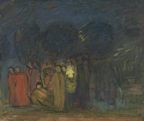 Carl Kylberg, Uppbrottet, 1935