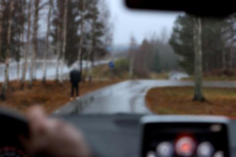 Svårt att se gångtrafikanter – Synbesiktningen 2015