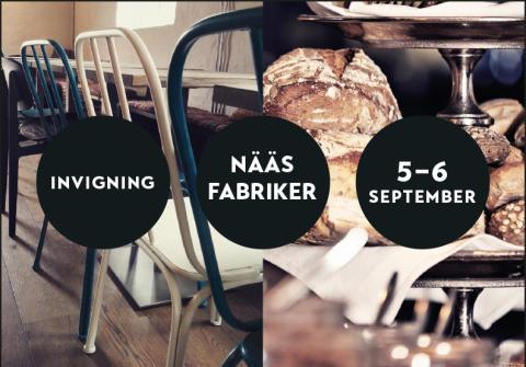 Invigning Nääs Fabriker Kafé