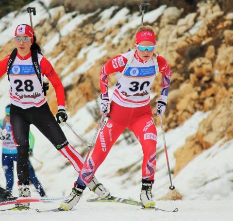 Turi Thoresen,jaktstart junior kvinner,junior-vm2016