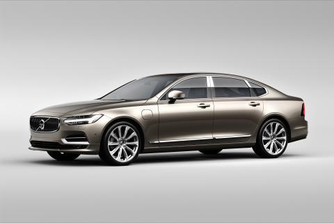 Volvo Cars presenterar en ny version av S90 och exklusiva S90 Excellence i Shanghai – markerar början på en ny era för biltillverkning i Kina