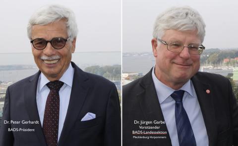 BADS-Präsident Dr. Peter Gerhardt wiedergewählt