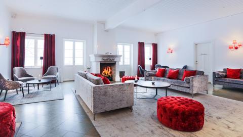 Över 1000 kvadratmeter ny design på Krägga Herrgård