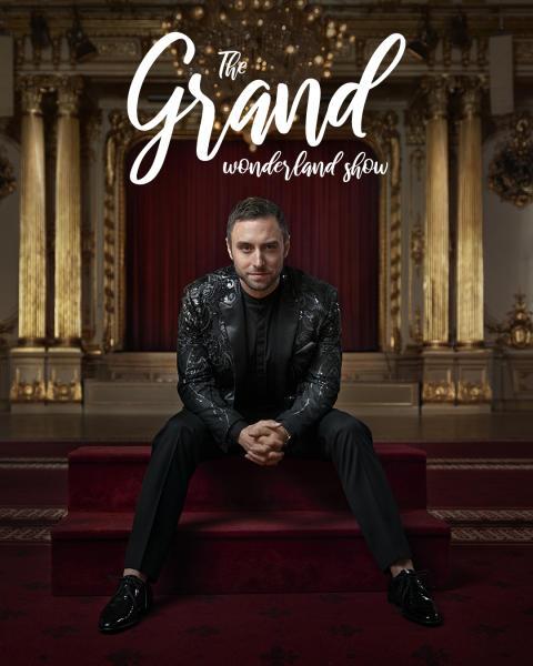 Grand Hôtel presenterar Måns Zelmerlöw i årets julshow i Vinterträdgården.