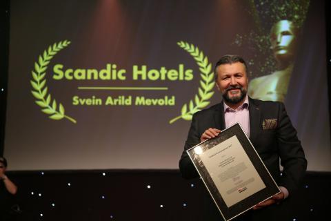Administrerende direktør i Scandic Norge, Svein Arild Steen-Mevold