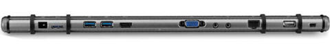 Ultrastation för ultrabooks, laptops och Macbooks