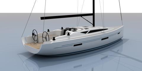 Stor efterfrågan på ny kappseglingsbåt