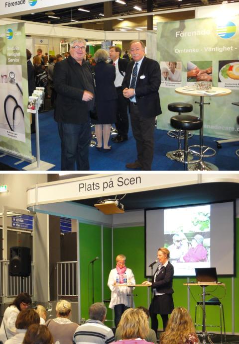 Förenade Care medverkade på Kvalitetsmässan 2011