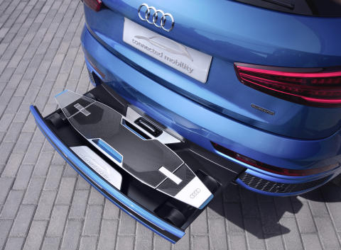 Audi connected mobility concept 4
