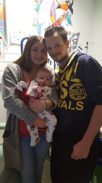 Parents Thank Charity For Support After Baby Boy Given Just Four Hours To Live Defies Odds
