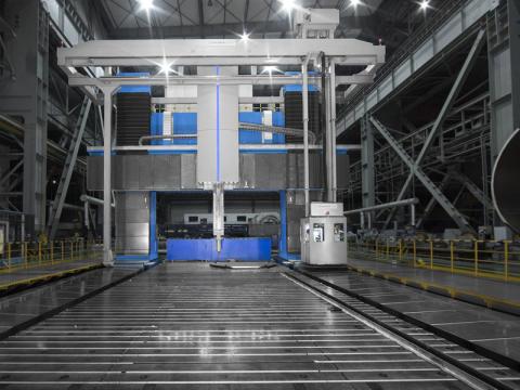 Número 1: Las 10 máquinas herramienta más grandes del mundo