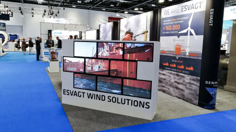 ESVAGT's unique SOV concept on display at Offshore Wind Energy 2017