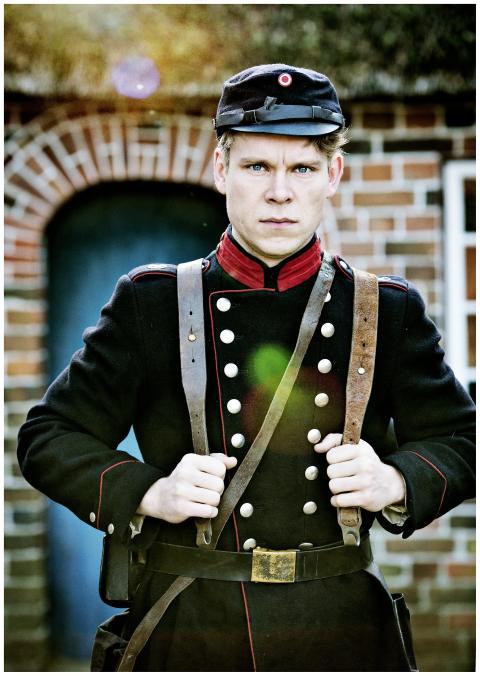 """Hovedpersonen i """"1864 - den sande historie"""" på Frilandsmuseet"""