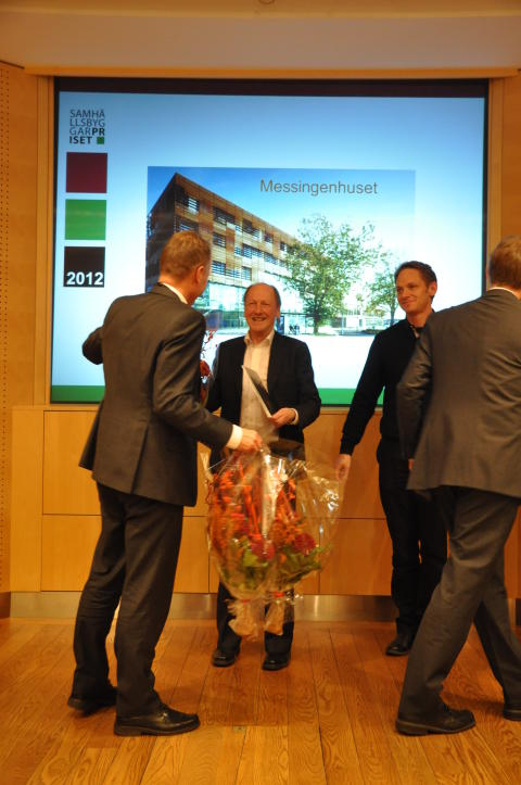 Messingen vann Stora Samhällsbyggarpriset 2012