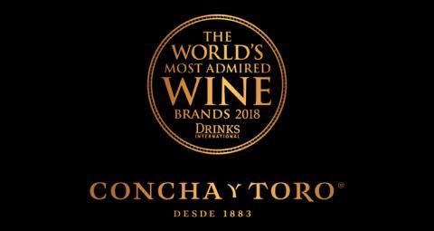 Concha y Toro och Emiliana bland världens mest beundrade vinvarumärken