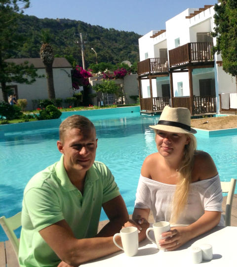 Spies' hotel Sunprime Miramare Beach på Rhodos