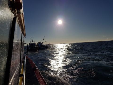 Frivilliga från RS Käringön och bryggan i Skärhamn nomineras till Årets Sjöräddare