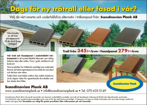 Scandinavian Plank AB  Ny annons!