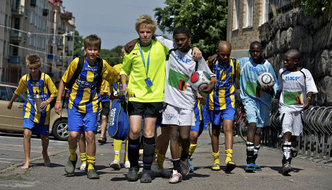 Göteborgsregionen övar Gothia Cup