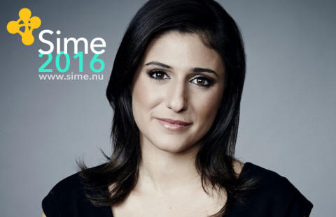 CNN:s Laurie Segall ny programledare för Sime  Stockholm 15–16 november