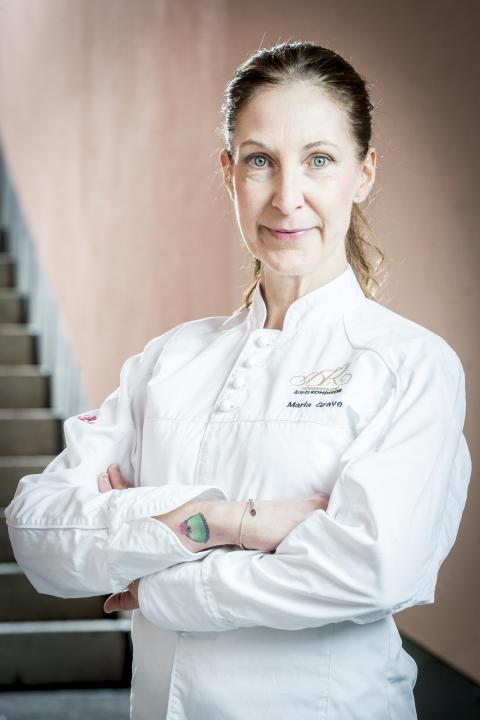 VM-konditorn Maria Grave gästar Fastfood & Café