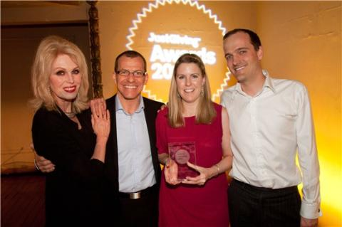 Aspire is Charity of the Year!