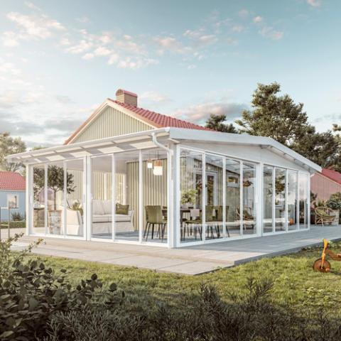Skånska Byggvaror lanserar uterummet Fira Vinkel!