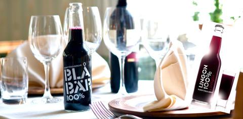 Blåbär 100% - en alkoholfri favorit på festmiddagar