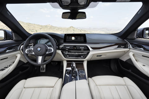 BMW 5-serie Sedan - interiør