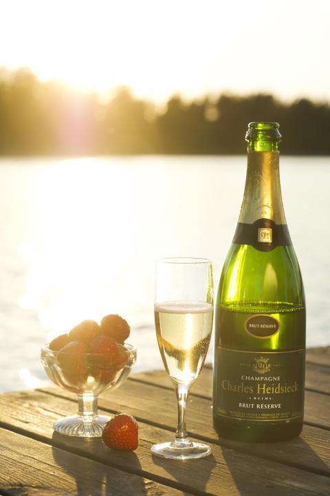 Charles Heidsieck Brut Réserve – fruktig lyxig champagne med ikonstatus