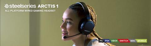 SteelSeries bringer sin prisbelønnede lyd til Arctis 1 Headset