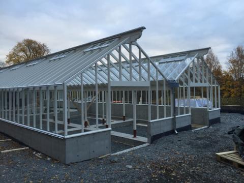 Växthus på Norsk Folkemuseum