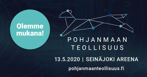 Pohjanmaan Teollisuus 2020 - varaa näyttelypaikkasi nyt!