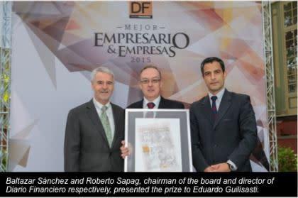 Chiles bästa affärsman 2015