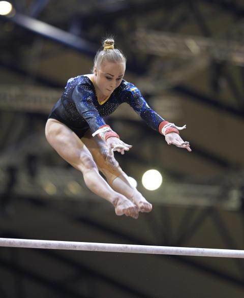Fin finalserie gav fjärdeplats i världscupen i barr för Jonna Adlerteg