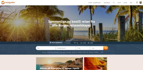 Reiseguiden klar for reise-boom med ny makeover
