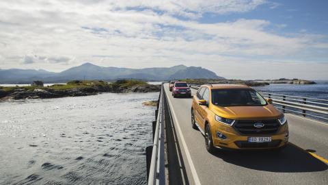 Ford-lansering av nye Edge og Ranger i Molde