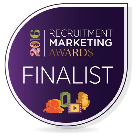 Finegreen shortlisted as finalists for Agency of the Year at the Recruitment Marketing Awards!