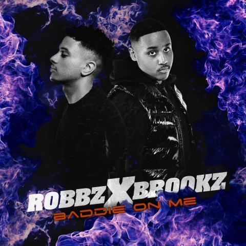 "Efter debutsuccén släpper Robbz x Brookz singeln ""Baddie on me"""